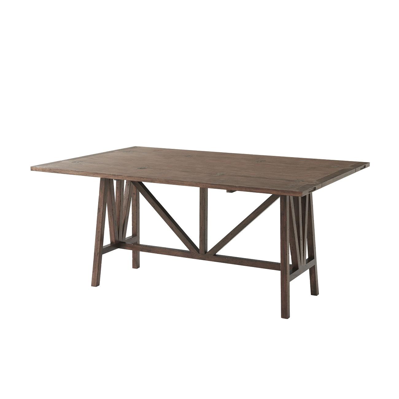 Dakota Consoledining Table, Theodore Alexander Table Brooklyn, New York