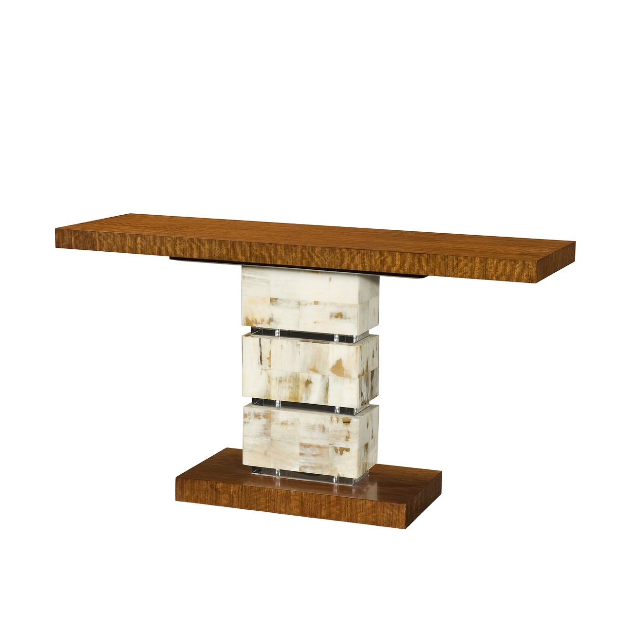 5305 189 A Trio Of Textures Console Theodore Alexander