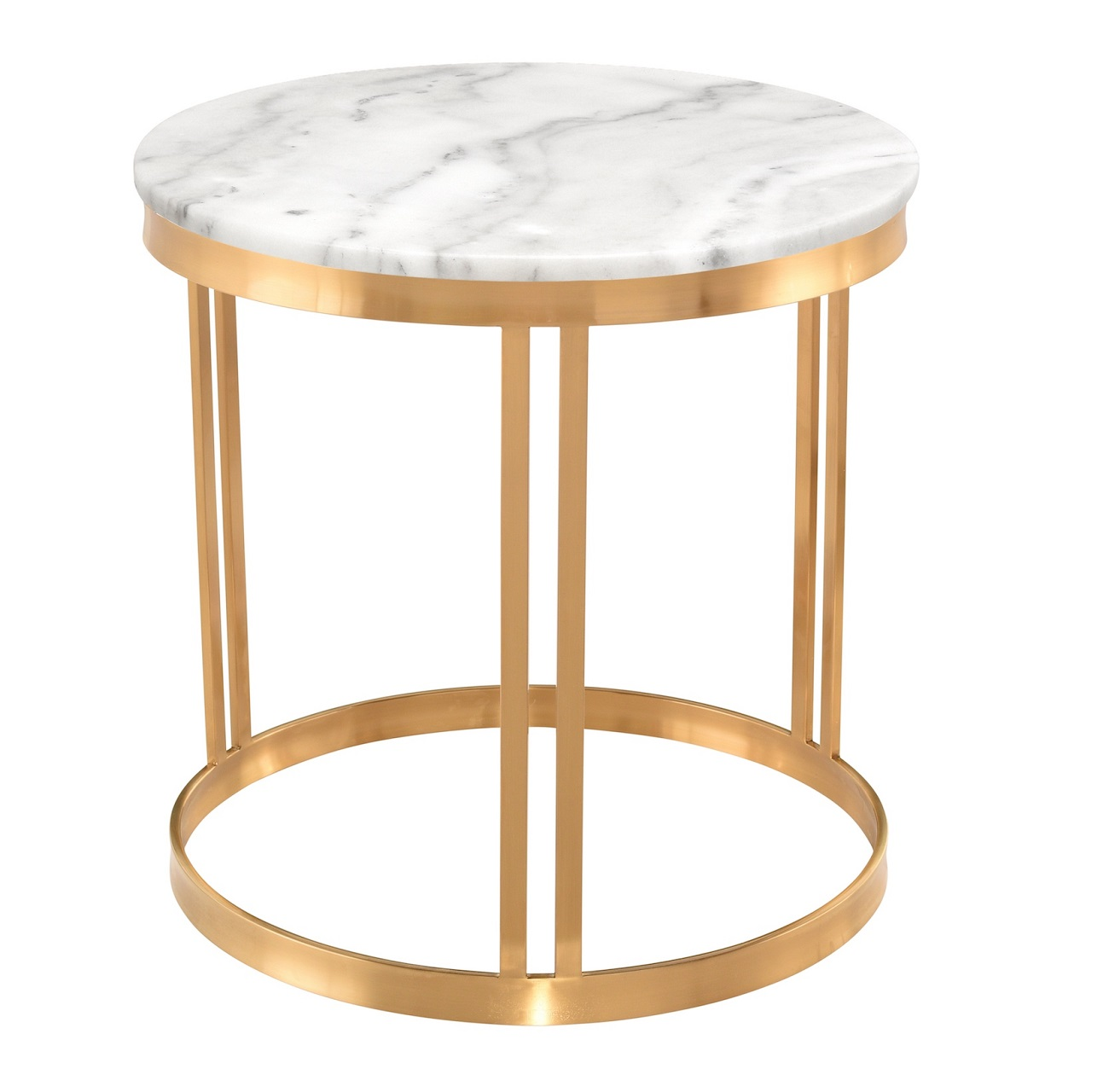 Nuevo Modern Furniture Nicola Side Table Brooklyn, New York