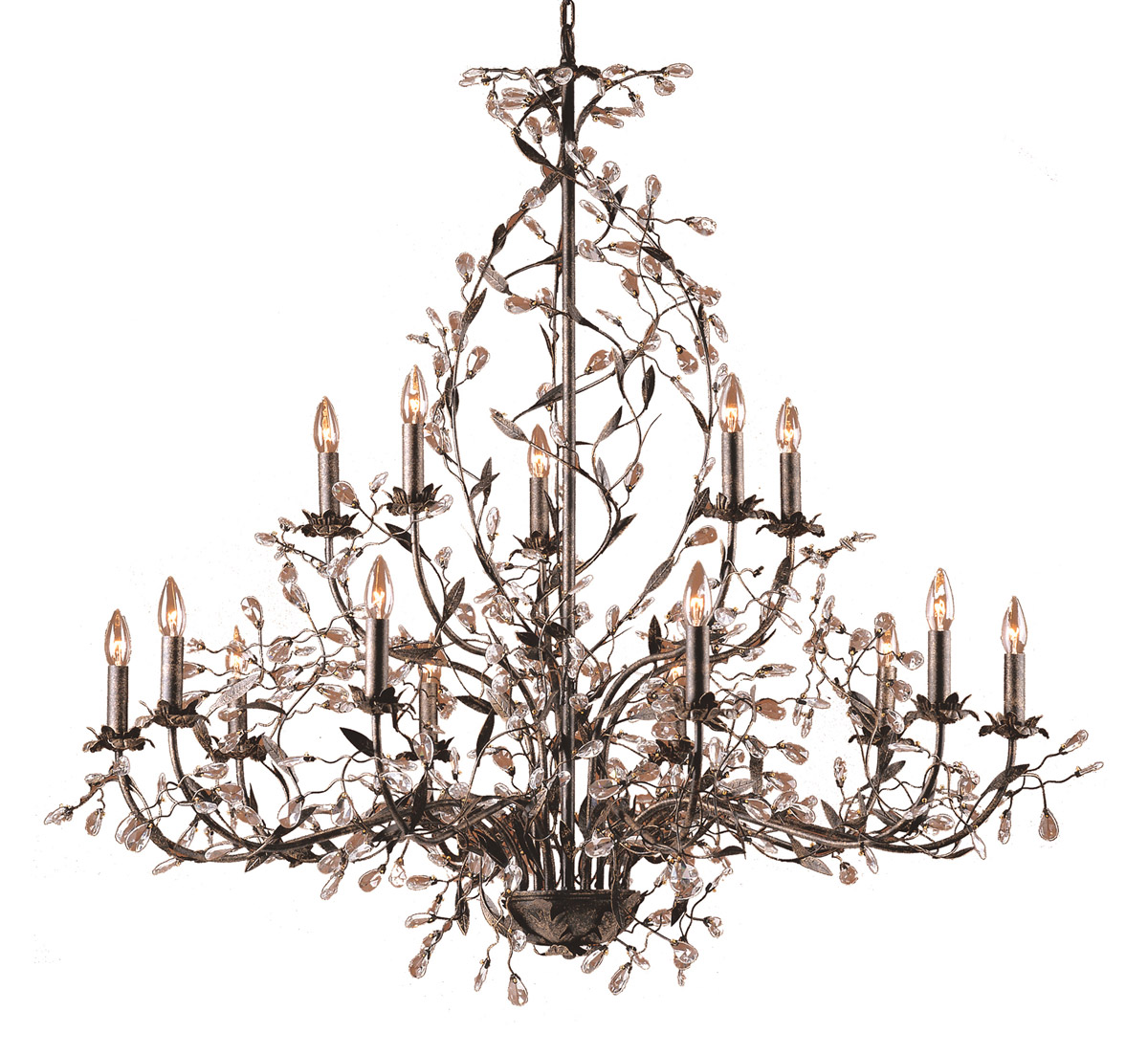 ELK Lighting Crystal Chandelier, Furniture by ABD, Accentuations Brand