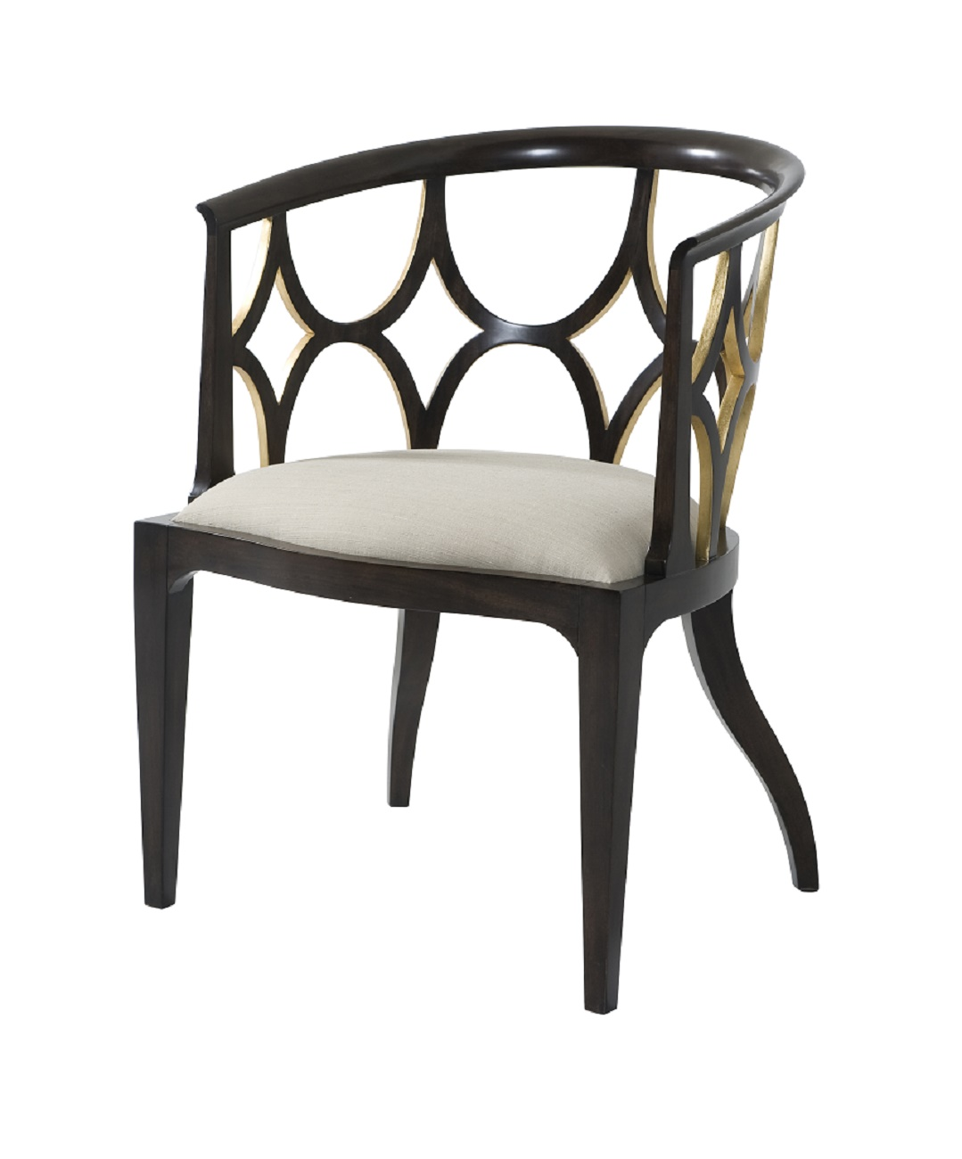 Ebonised Connaught Chair theodore alexander 4202 066