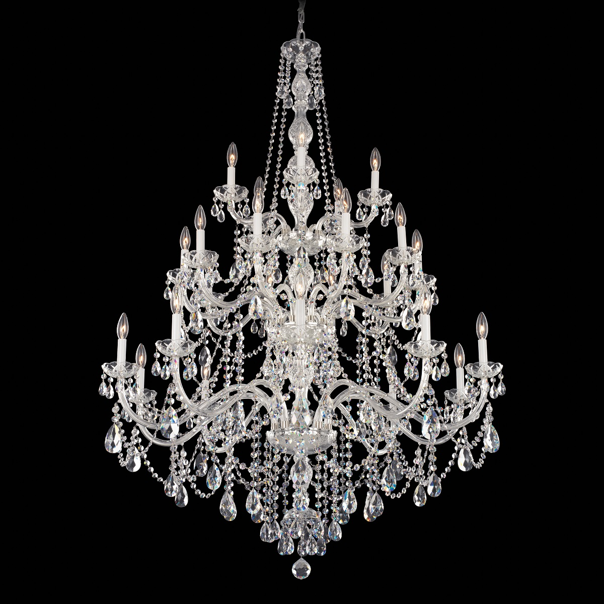 Schonbek Classic Crystal Chandelier Brooklyn,New York by Accentuations Brand