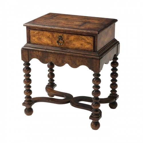 AL50152 Victory Oak Accent Table Theodore Alexander