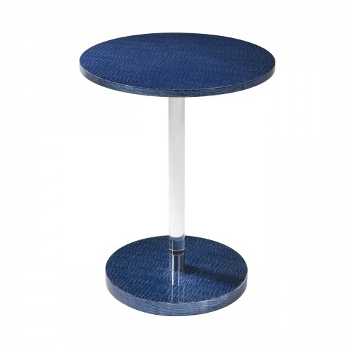 5002 278 Striate Ii Accent Table theodore alexander