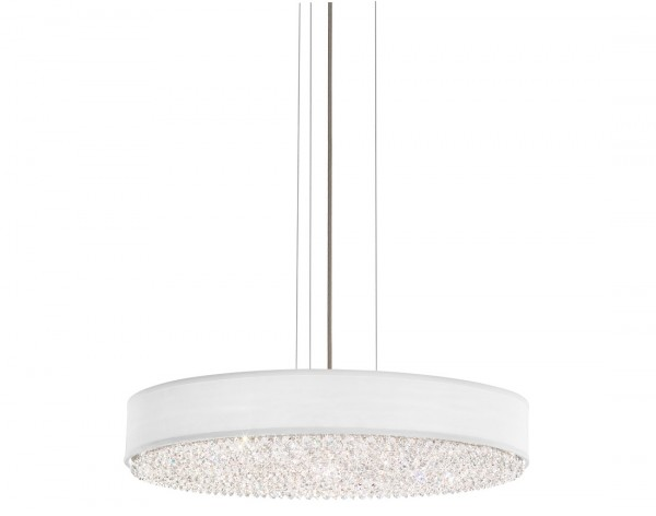 Schonbek  Modern Crystal Pendant Chandelier Brooklyn,New York by Accentuations