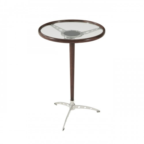 Racer Accent Table, Theodore Alexander Table Brooklyn, New York - Furniture by ABD