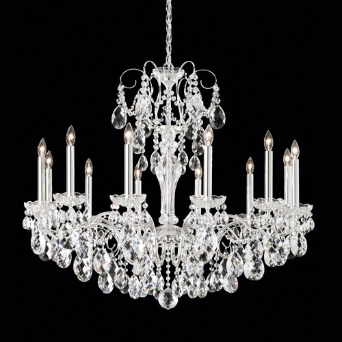 Schonbek Contemporary Crystal Chandeliers, Accentuations Brand, Furniture by ABD