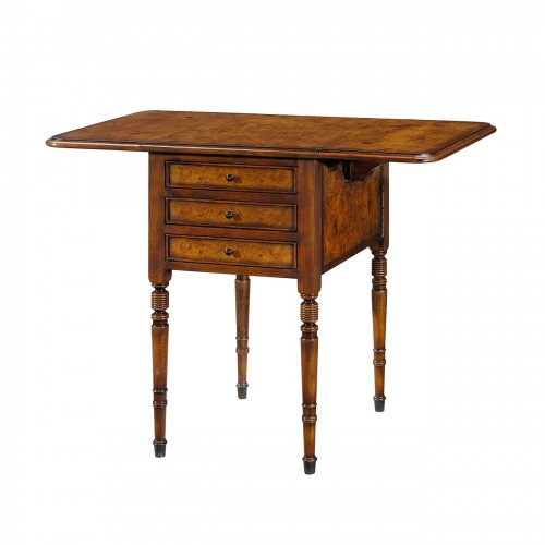 5005 084 Victoria'S Drop Leaf Accent Table theodore alexander