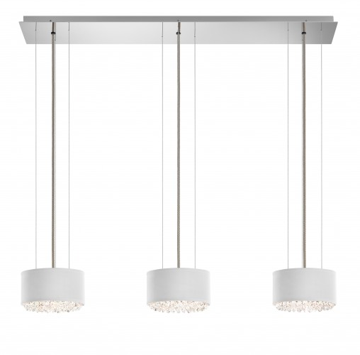 Schonbek  Modern Crystal Pendant Chandelier Brooklyn,New York - Accentuations