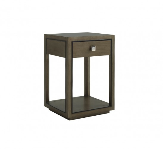 Ariana Margaux Night Table, Contemporary Night Tables