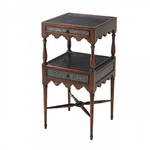 5021 045 By A Regency Engraver Accent Table theodore alexander