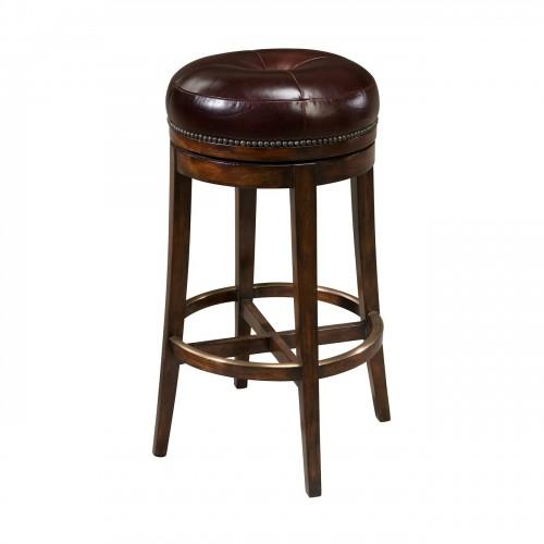 The Barolo Swivelling Bar Chair Bar Stool, Theodore Alexander Bar Chair Bar Stool, Brooklyn, New York, Furniture by ABD