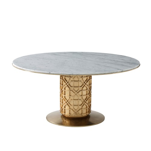 Colter Dining Table, Theodore Alexander Table Brooklyn, New York