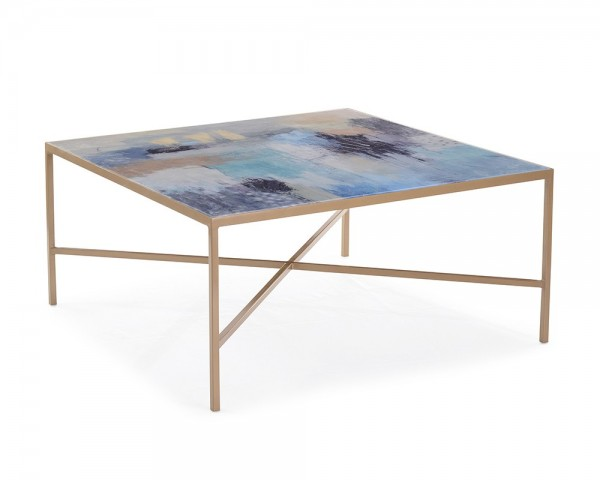 Susan Godwin's Miles Apart Occasional Table, John Richard Occasional Table Brooklyn, New York - Furniture by ABD