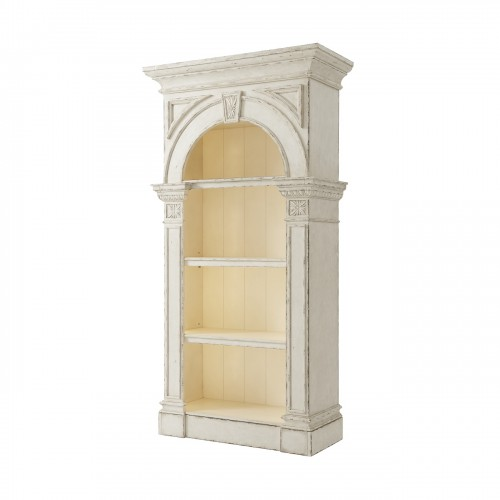6302 105 Country House Reading Bookcase Theodore Alexander