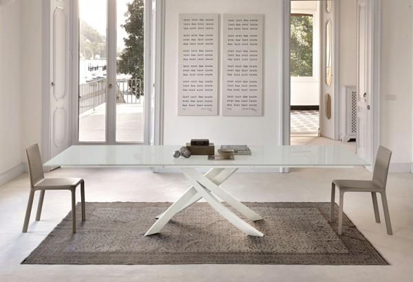 Artistico Glass II Table, Bontempi Casa Table