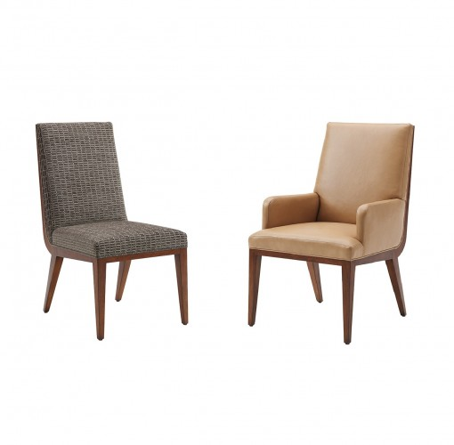 Kitano Marino Dining Chair, Lexington Leather Dining Chairs For Sale