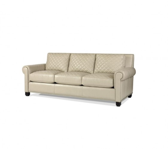 Century Furniture Leather Quilted Cheap 3 Seater Sofas Brooklyn, New York