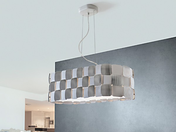Oval 4L Schuller LED Pendant Lighting Brooklyn,New York - Accentuations Brand