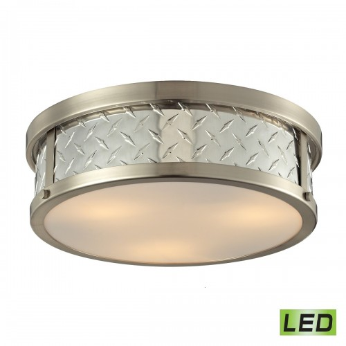 Diamond Plate 314223 Led ELK lighting flush mount ceiling light Brooklyn,New York by Accentuations