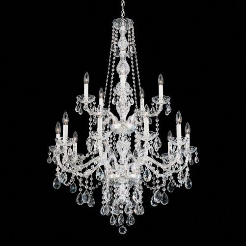Schonbek Modern Crystal Chandelier Brooklyn,New York - Accentuations Brand