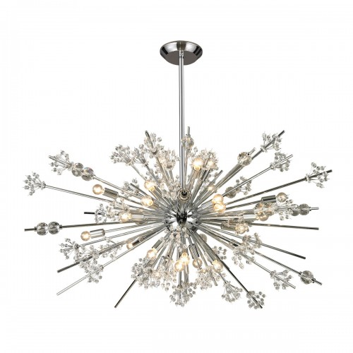 Starburst 11753 Classic Crystal Chandelier ELK Lighting  Brooklyn,New York - Accentuations Brand