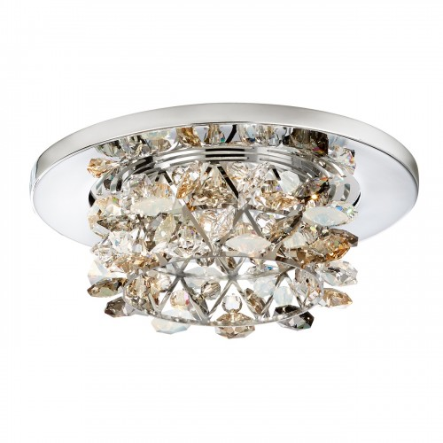 crystal flush mount light fixtures
