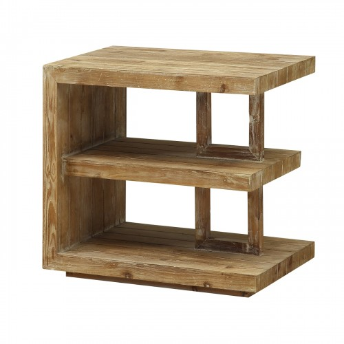 Constructed of fir and finished in a Timberwood natural finish