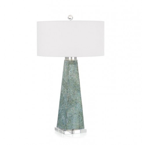 Dappled Sea Table Lamp, John Richard Table Lamp, Brooklyn, New York, Furniture y ABD