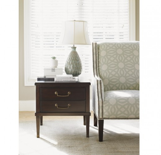 Lexington Mahogany Lamp Tables for Sale