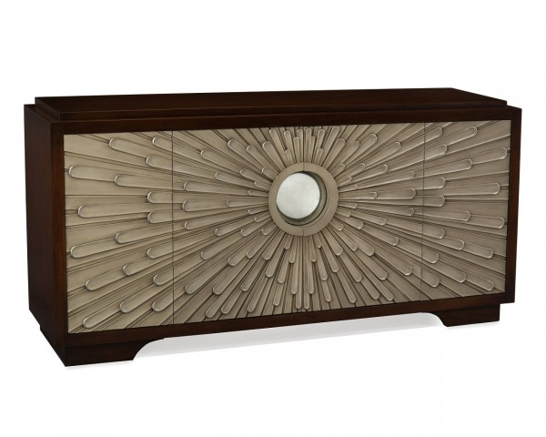 Helios Credenza, John Richard Mirror Table