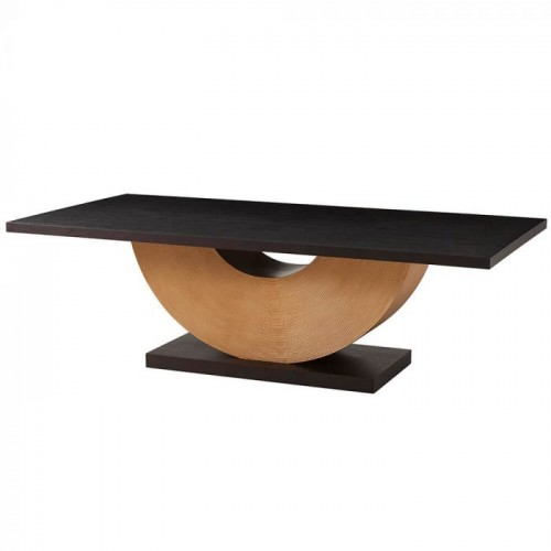 Reed Rectangular Dining Table, Theodore Alexander Table Brooklyn, New York