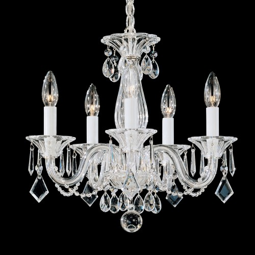 Schonbek Allegro 6995 Modern Crystal Chandelier for Dining Room Brooklyn, New York