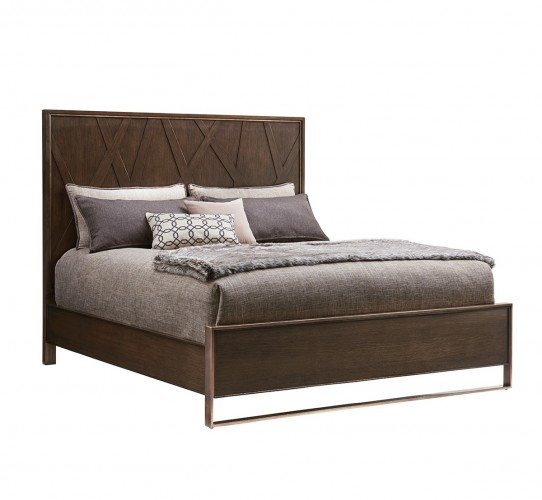 Zavala Radian Panel Bed, Lexington Panel Bed