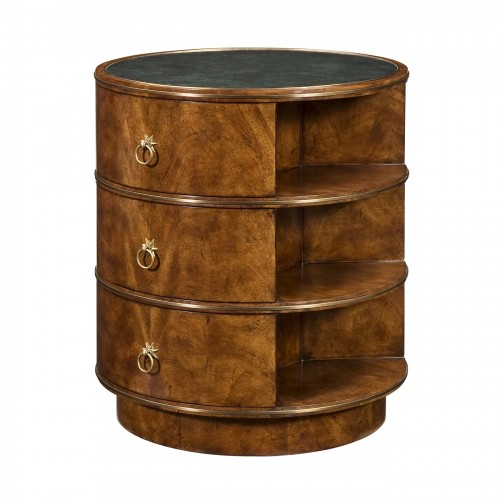 6005 385 Antiqued Rotations Accent Table Theodore Alexander