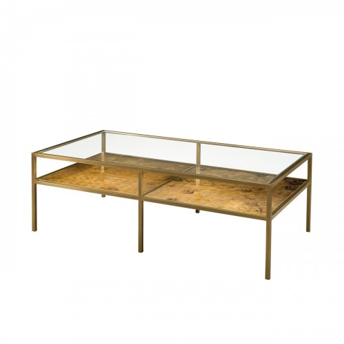 5121 064 Burnished Bright Cocktail Table Theodore Alexander