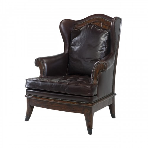 The Castle Fireside Upholstered Chair theodore alexander 4200 170