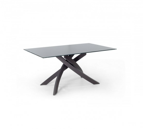 artistico 2013 bontempi table top in glossy glass or velvet matt anti-scratch glass