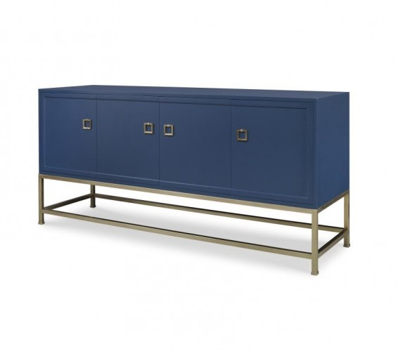 Century Furniture Four Door Tall Media Console for sale online Brooklyn, New York