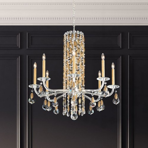 Schonbek Chandelier, Brooklyn, Accentuations Brand, Furniture by ABD
