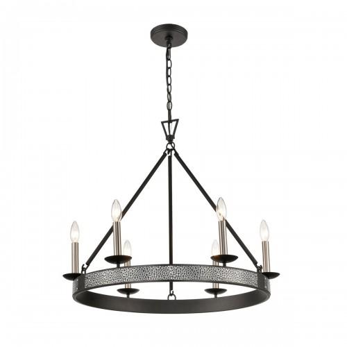 Modern Impression 6-Light Chandelier  for Dining Room ELK Lighting Brooklyn,New York