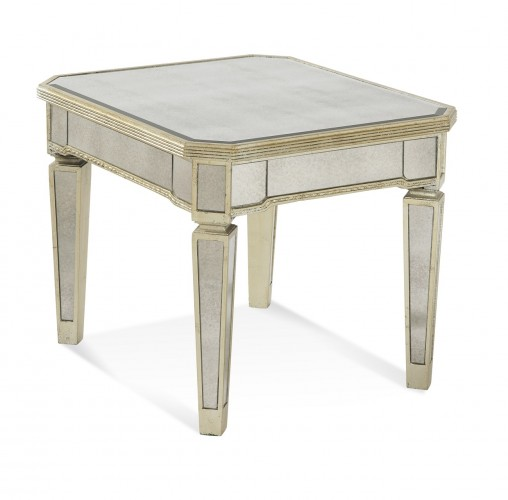Bassett Mirror Borghese End chess table for sale Brooklyn, New York