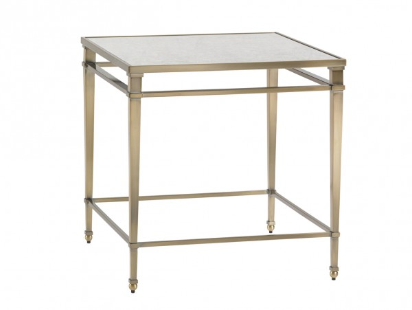 Lexington Metal Lamp Table for Sale