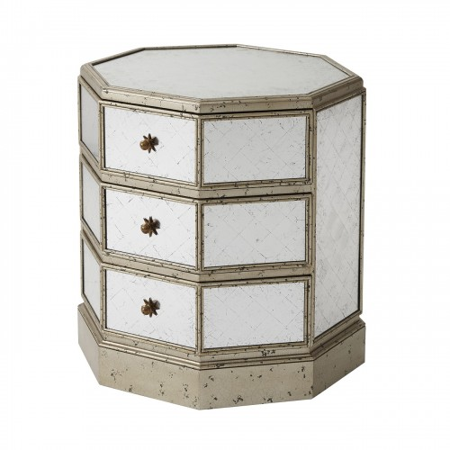 6050 003 Antique Venetian Octagon Accent Table Theodore Alexander