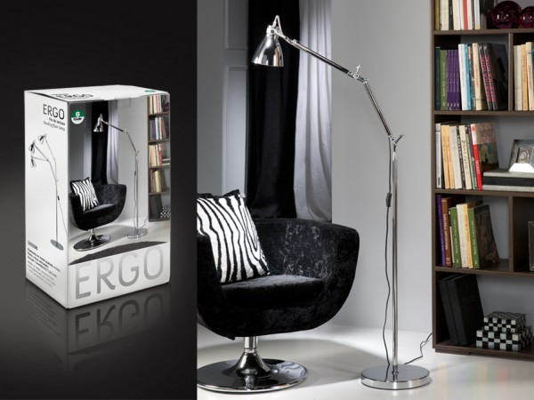 Schuller Ergo Floor Lamp Table Lamps Brooklyn,New York- Accentuations Brand