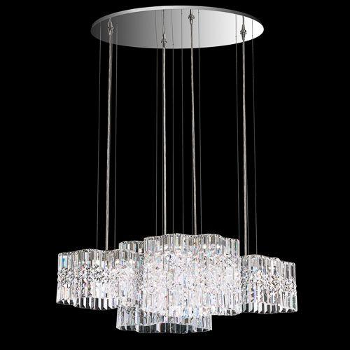 Schonbek Flush Mount Crystal Ceiling Lights Brooklyn, New York, Furniture by ABD