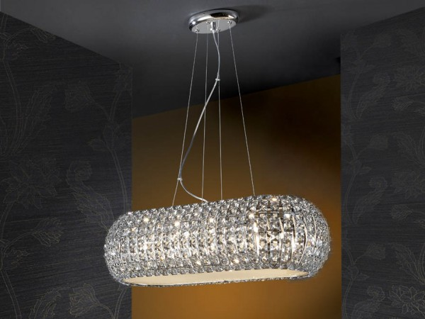 Schuller Diamond Oval Pendant Lighting Brooklyn,New York - Accentuations Brand