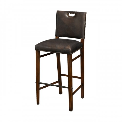 The Officer's Mess Bar Stool theodore alexander 4200 106