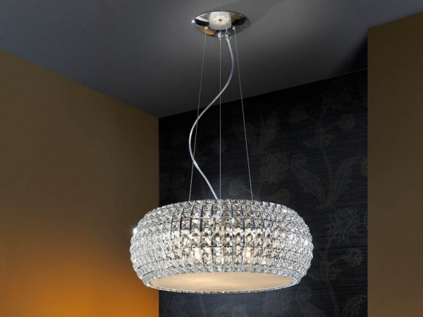 Schuller Diamond Large Pendant Lighting Brooklyn,New York- Accentuations Brand