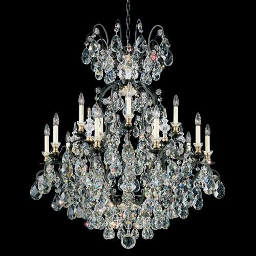 Contemporary Schonbek Crystal Chandeliers
